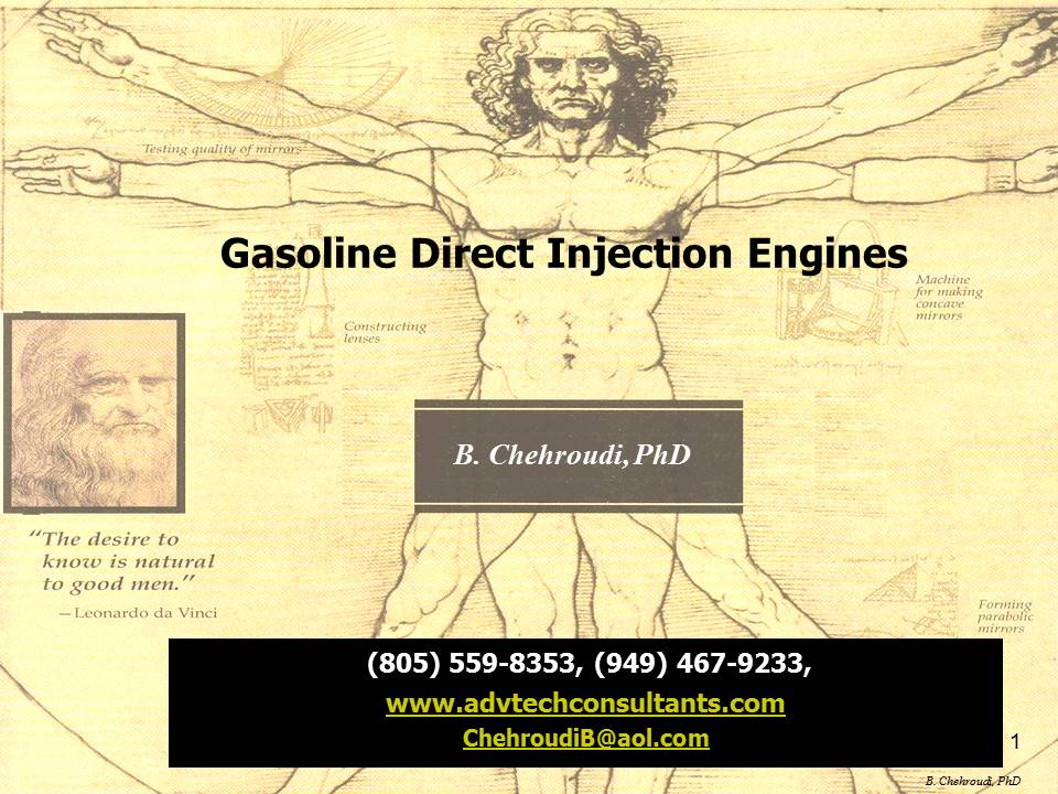 Gasoline Direct Injection (GDI) Engines