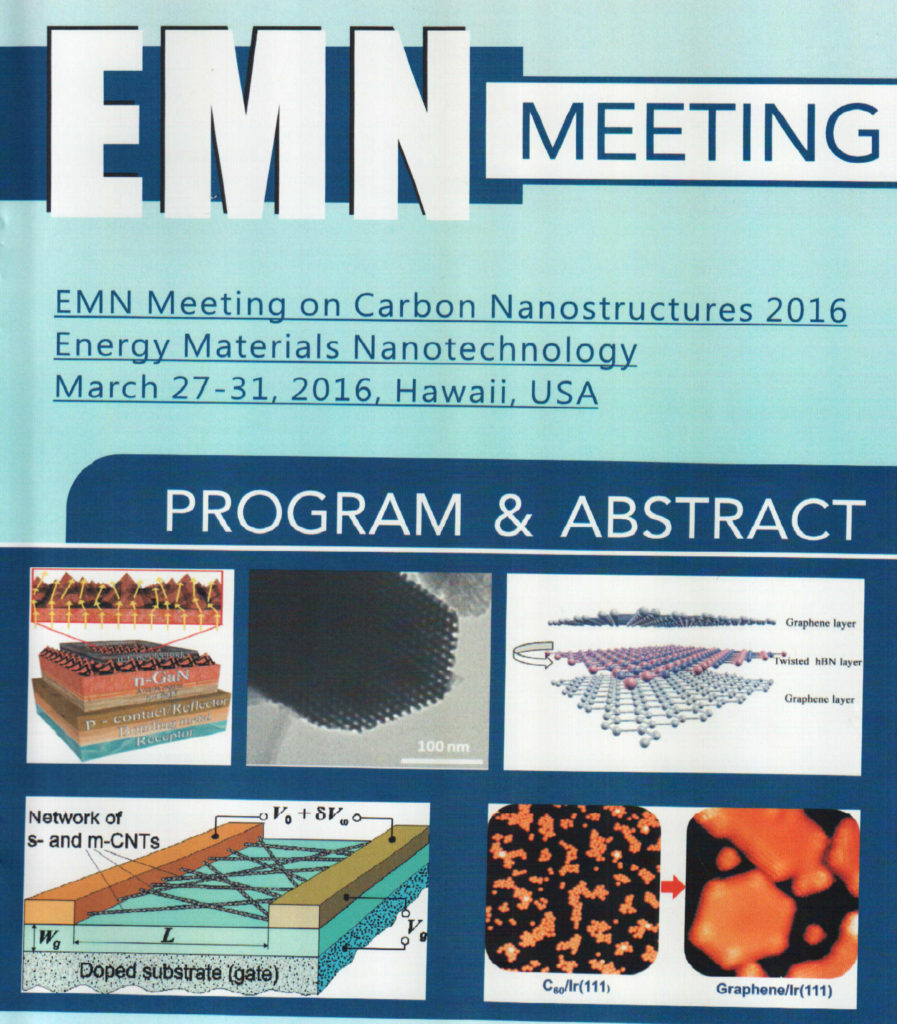 EMN Program & Abstracts 2016 Chehroudi