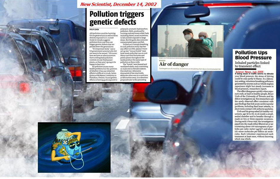 Engine Combustion & Emission of Pollutants