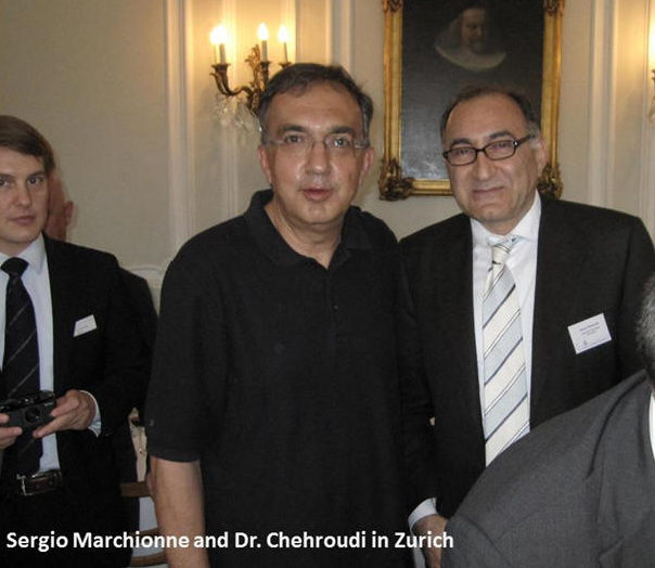 Sergio Marchionne Chehroudi Zurich